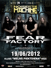 Fear Factory (ASV) + support